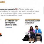 Amazon Launches Textbook Rental Program