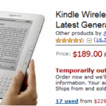 Kindle 2 is Out Of Stock