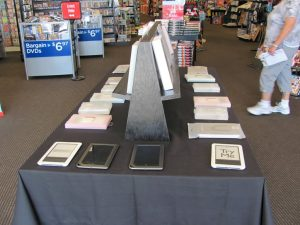 Barnes and Noble to increase the size of Nook Display Areas