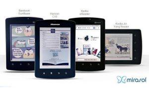 Mirasol to debut 4 new e-Readers at SID 2012
