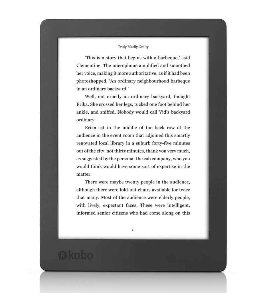 Kobo aura h2o edition 2 now available for pre order for Housse kobo aura h2o edition 2