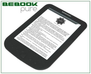 Bebook Pure e-Reader Released in Europe