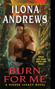 eBook Review: Burn For Me by Ilona Andrews