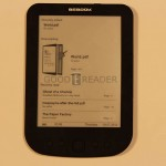 Hands on Review of the Bebook Pure eReader