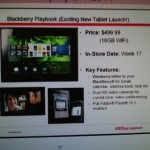Blackberry PlayBook may cost only $500