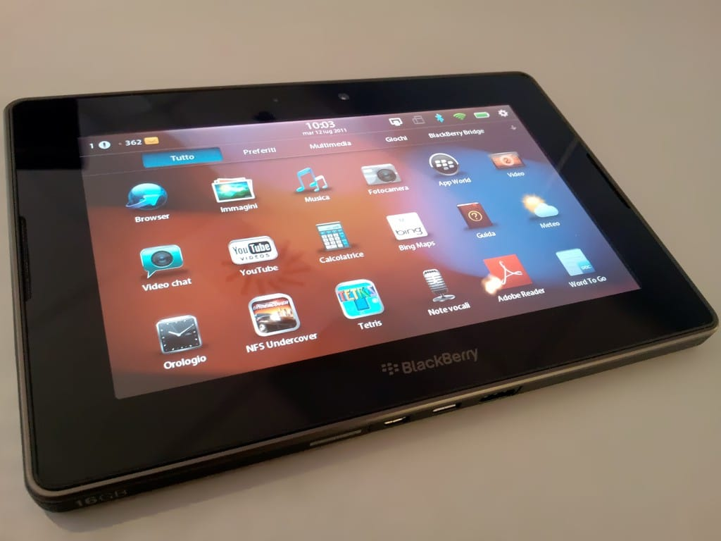 blackberry confirms the playbook 2 will be developed rh goodereader com blackberry playbook user guide BlackBerry PlayBook Update