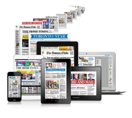how to make a digital newspaper