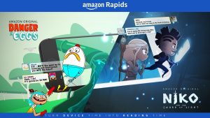 Amazon Rapids Unveils Signature Stories
