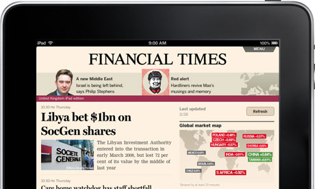 The Financial Times Launches Browser Based App