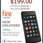 Is a $199 Unlocked Amazon Fire Phone Relevant?