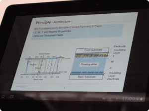 Fuji Xerox e-Paper Showcased