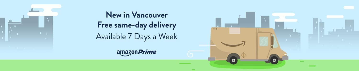 amazon now offers same day delivery to vancouver and toronto. Black Bedroom Furniture Sets. Home Design Ideas