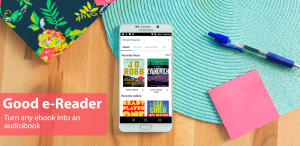 Good e-Reader Launches Audiobook Reader for Android