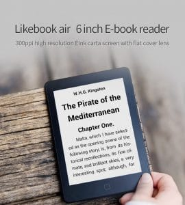 New Boyue Likebook Air eReader Now Available