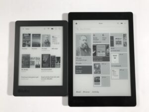 Here is a video of the new Kobo Home Screen
