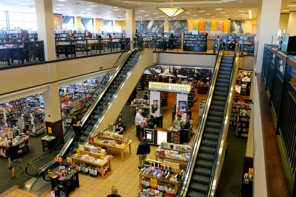 Barnes and Noble is going to sell the company