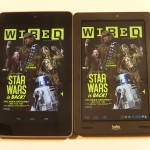 Google Nexus 7 and Kobo Arc Comparison Video