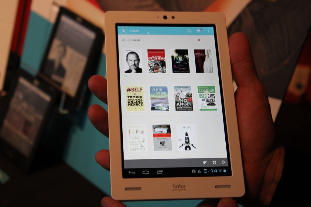 Hands On Review Of The Kobo Arc
