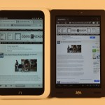 Kobo Arc and Barnes and Noble Nook HD Comparison