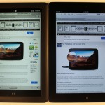 Nook HD+ and iPad 3 Video Comparison
