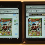 Nook HD+ and Amazon Kindle Fire HD 8.9 Comparison