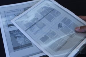 Hands on with the Plastic Logic Papertab e-Paper