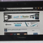 BlackBerry PlayBook 2.0 Update Further Delayed