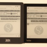 Kobo Aura and Kobo Glo Comparison Video