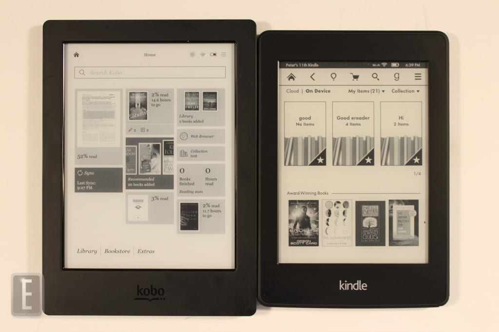 Kindle Vs Sony Reader: Amazon Kindle Paperwhite 2 Vs. Kobo Aura H2O