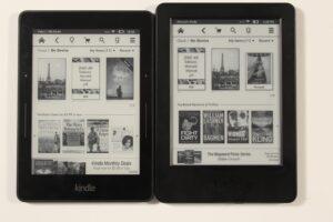 Kindle Basic Touch VS Kindle Voyage
