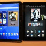 Amazon Fire HDX 8.9 vs Samsung Galaxy Tab 4 Nook 10.1