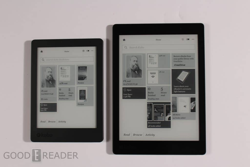 kobo aura edition 2 vs kobo aura one