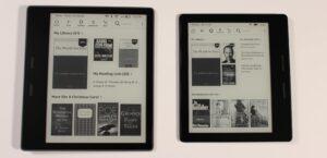 Amazon Kindle Oasis 2017 vs Kindle Oasis 2016