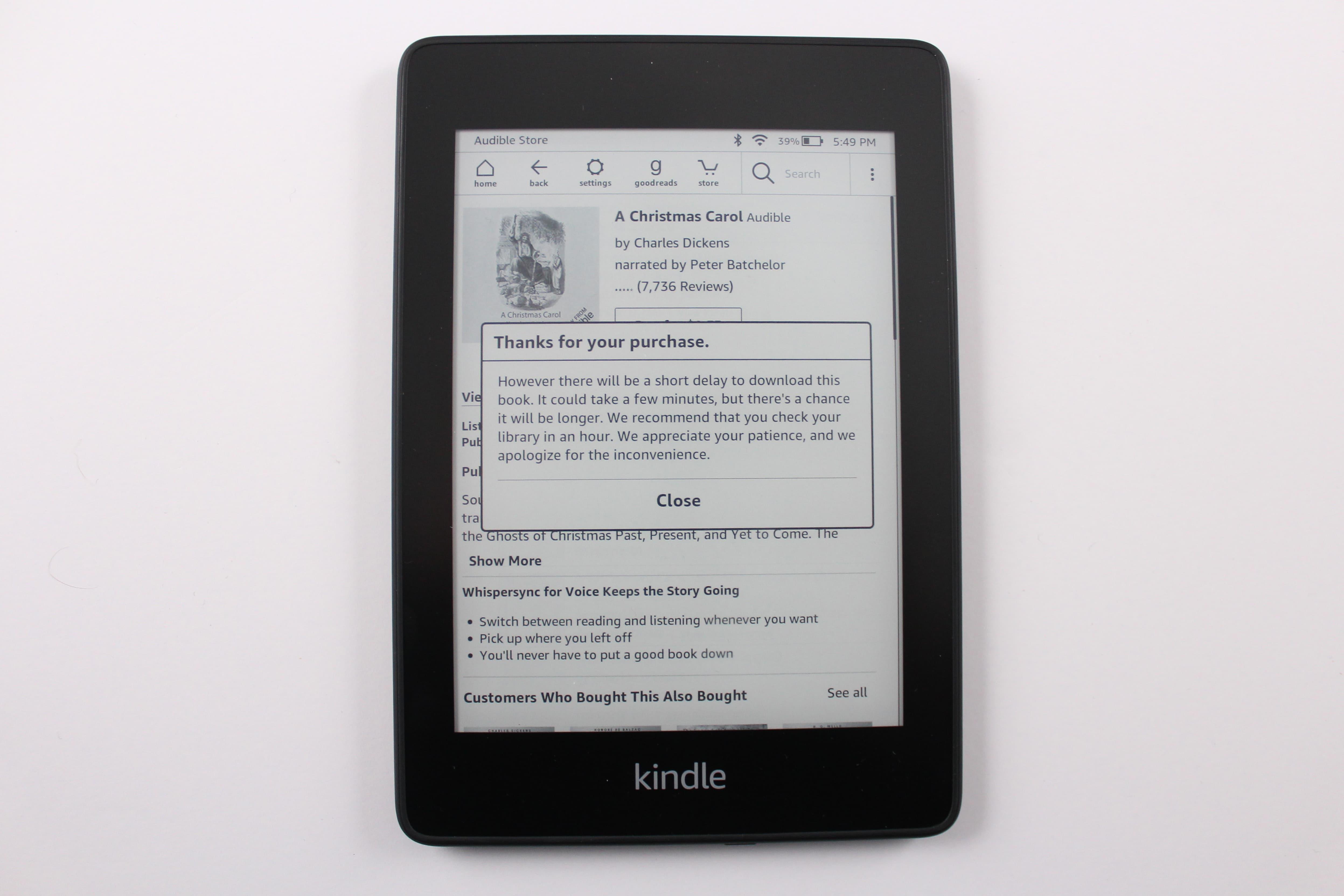 Amazon Kindle Paperwhite 4