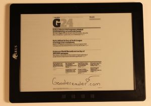 Review of the Icarus Excel – 9.7 inch e-Reader