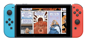 New Digital Comic Subscription Platform is launching on the Nintendo Switch