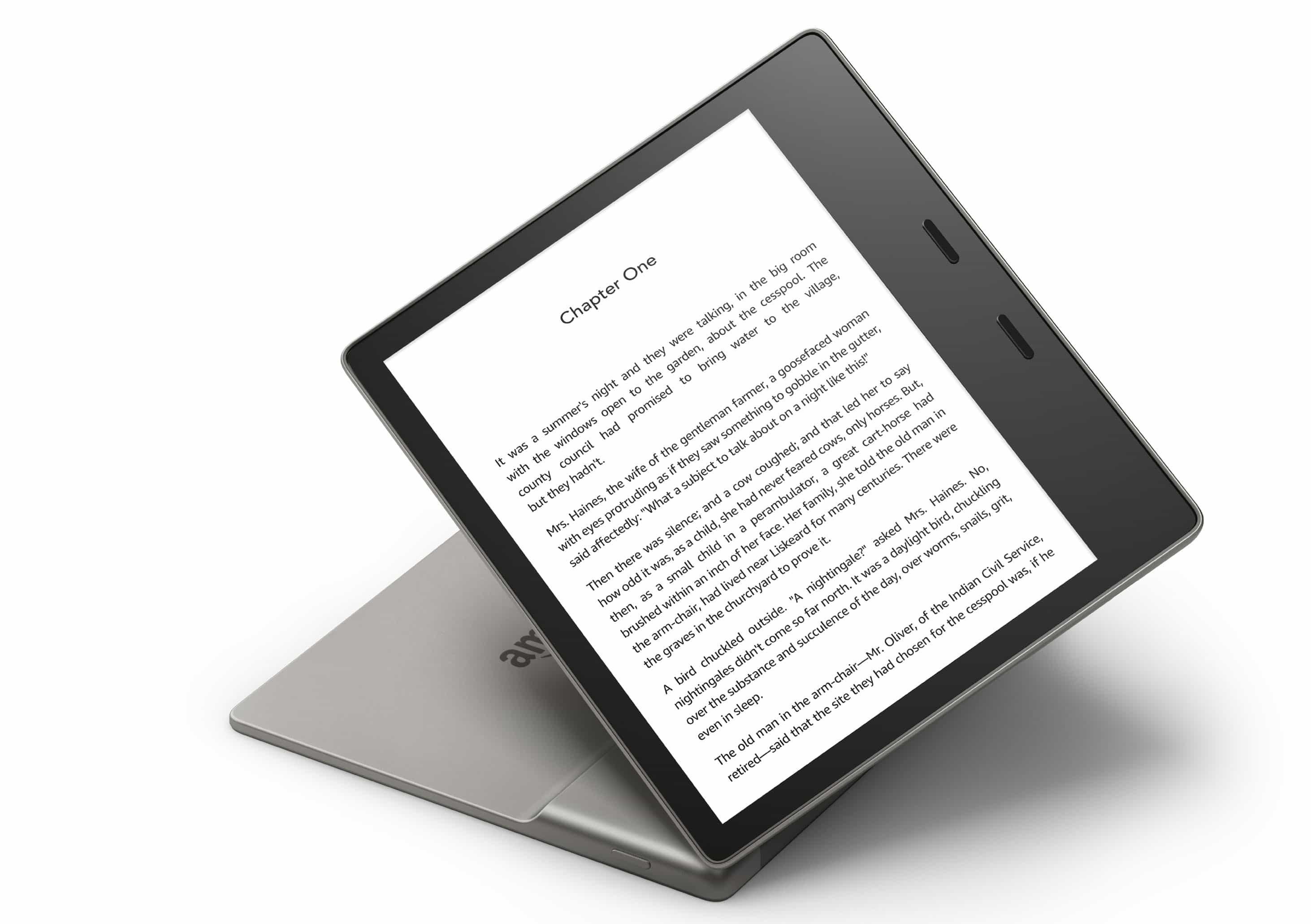 Amazon Kindle Oasis 3 has a color temperature system