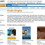 Amazon's Digital Short Story Publication Platform