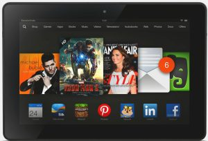 Contest: Win an Amazon Kindle Fire HDX 7