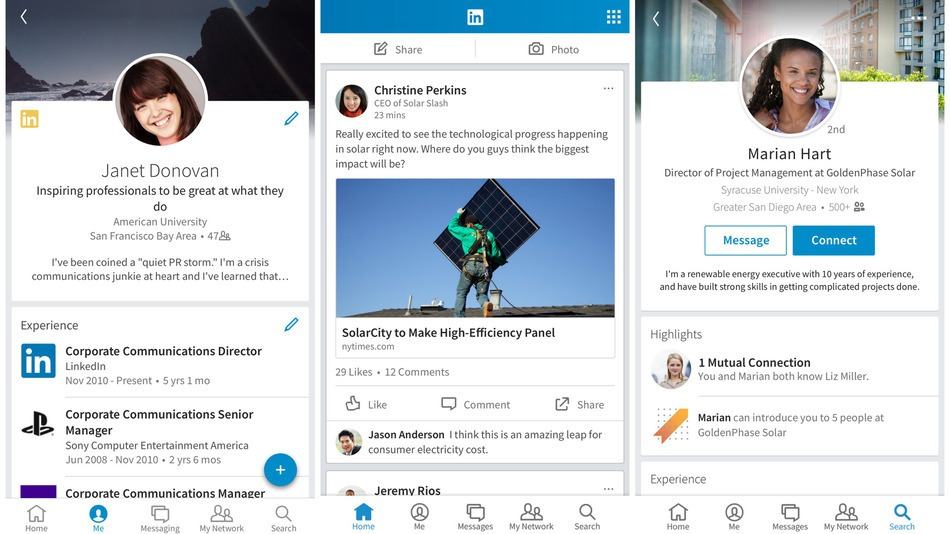 how to delete linkedin app