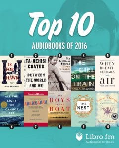 Here are the best audiobooks of 2016
