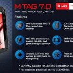 MTS Launches Tablet In India For INS 8,999