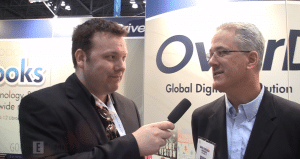 Exclusive Interview with David Burleigh of Overdrive on Digital Library Lending at Book Expo 2012