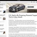 New York Times' Experimental HTML5 iPad App Launched