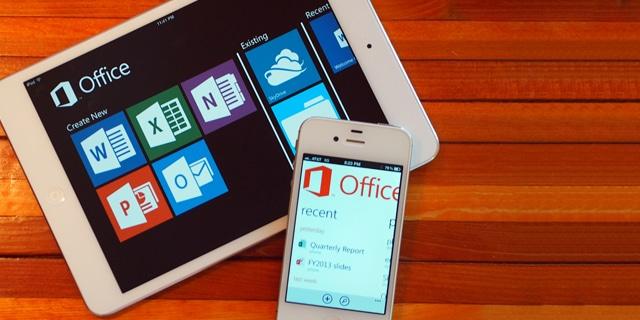 Office365 on iPad/iPhone