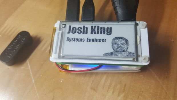 cisco engineer develops an e ink name tag