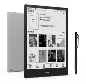 Onyx Boox Note+ e-Reader is now available