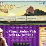 Scholastic Announces JK Rowling Webcast