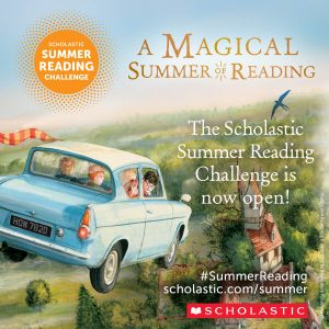 Scholastic Launches Harry Potter Themed Summer Reading Challenge