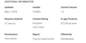Audiobook Reader has just received 10,000 installs